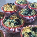 Most favorite Blueberry Muffins ever (Vegan)