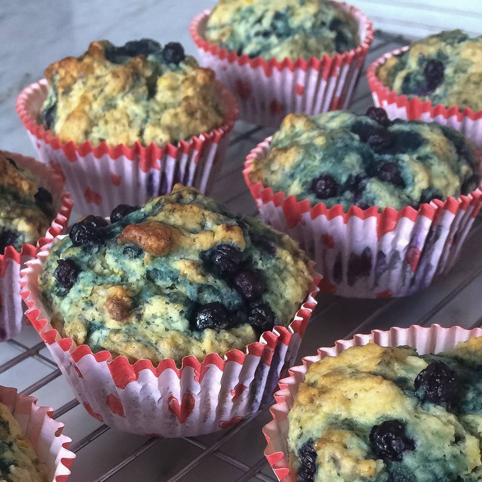 Best Vegan Blueberry Muffins Ever!