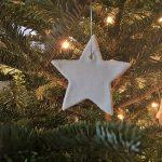 DIY White Christmas Ornaments