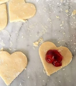 Making Heart Shaped Hand Pies