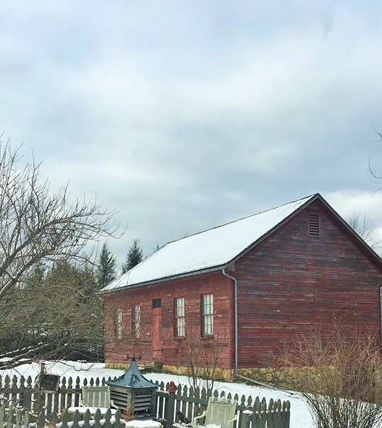 Christmas Time at 1824 Walker Farmhouse & Cookie Bar Recipe
