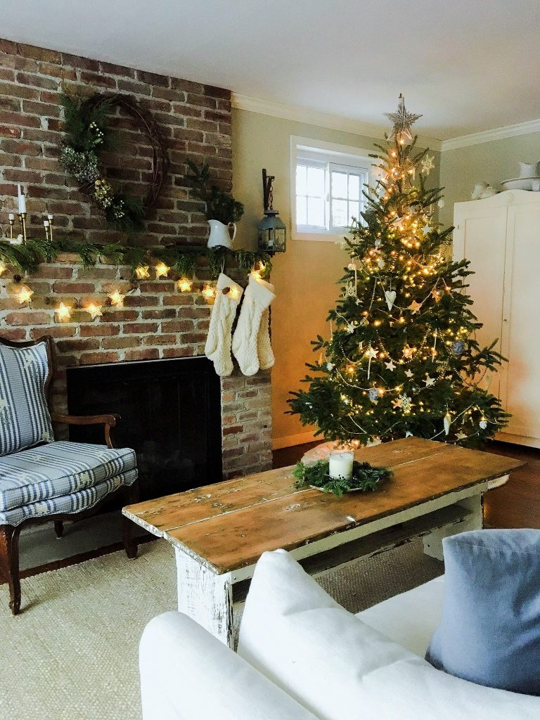 Vintage Christmas in my home