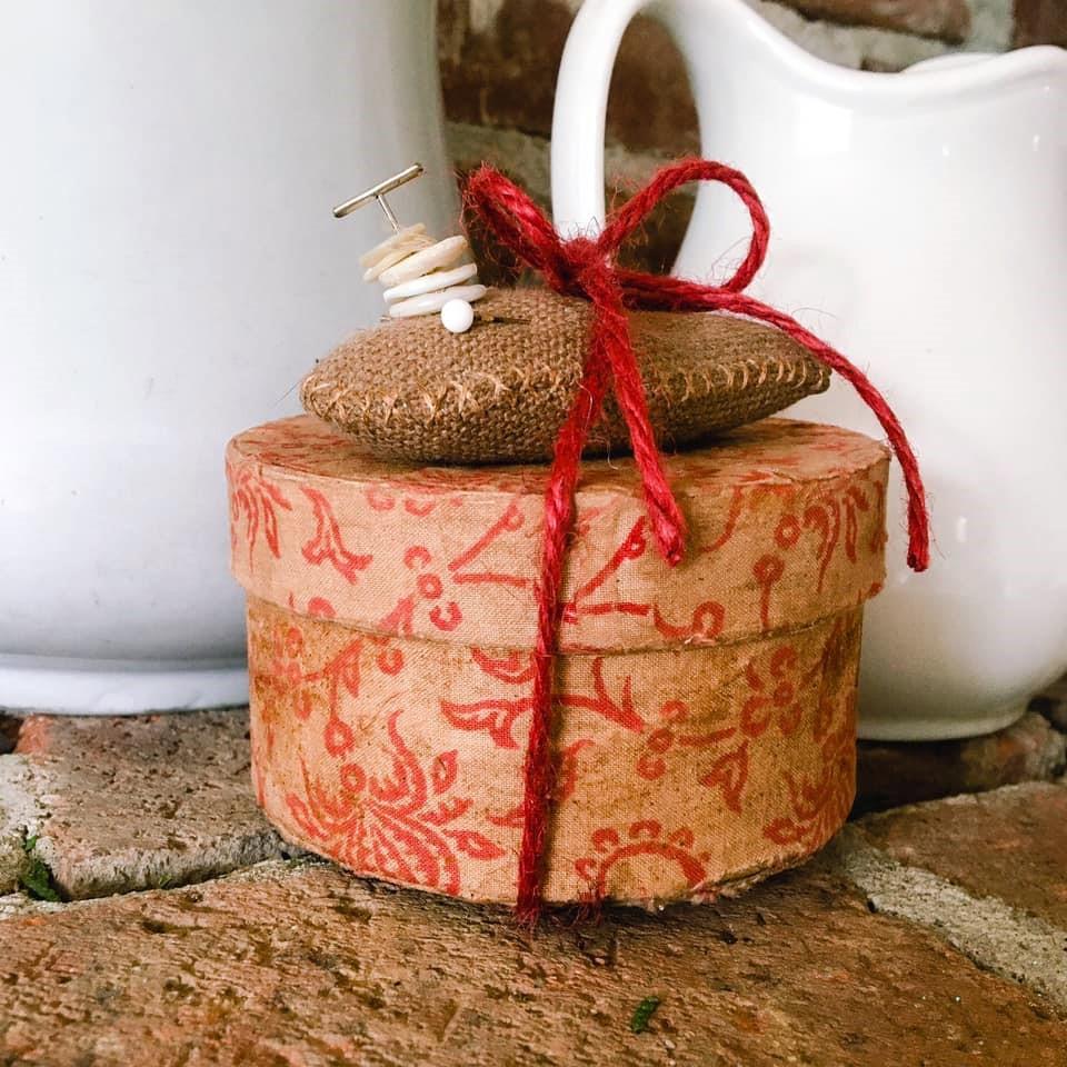 Valentine Keepsake Sewing Box (SOLD)