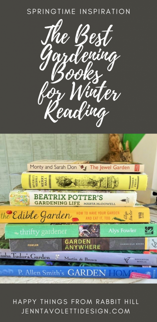 A list and review of some of my favorite gardening books for winter reading