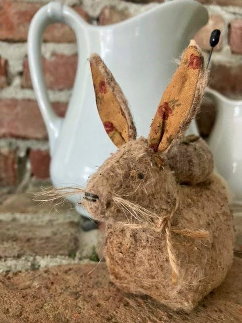 Pincushion Rabbit (SOLD)