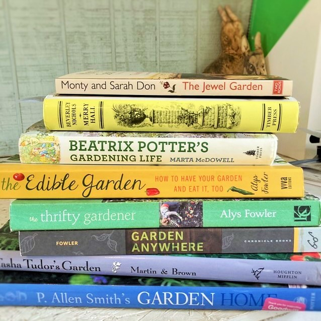 a few of my personal favorite gardening books