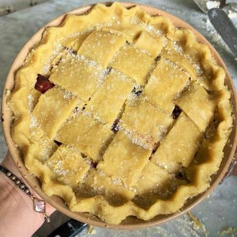 How to Make a Vegan Sourdough Pie Crust