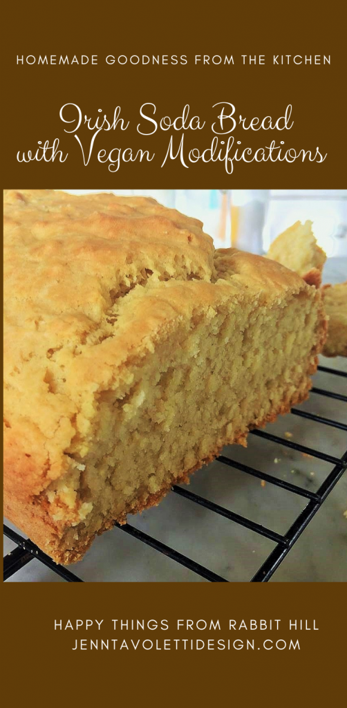 Irish Soda Bread with vegan modifications