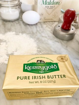 Kerrygold Butter and Maldron Salt