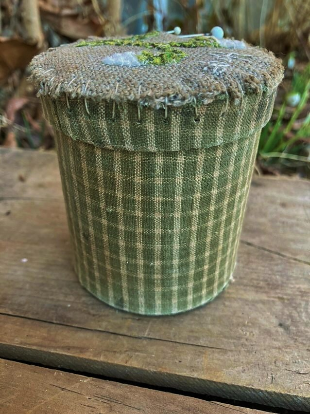 Botanical Keepsake Fabric Covered Box