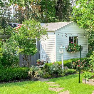Garden shed studio